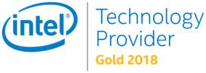 Intel Technology Provider Gold 2018 Logo